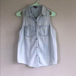 Light Blue Express Vest